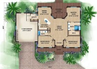 2 Bed Bath Beach House Plans