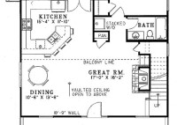 2 Bedroom House Plans Under 1400 Square Feet