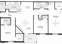 3 Bedroom Apartment Floor Plan Pdf