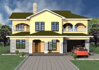 4 Bedroom Two Story House Plans
