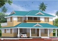 5 Bed House Plans Kerala