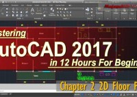 Autocad 2017 2d Floor Plan Tutorial For Beginner Course Chapter 1