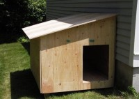 Build Your Own Dog House Plans
