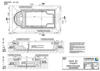 Building Plan With Swimming Pool