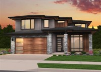 Contemporary 2 Story House Plans
