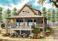 Country Cabin House Plans