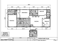 Eagle River Mobile Home Floor Plans