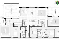 Floor Plan 4 Bedroom House Plans In Nigeria