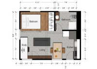 Floor Plans For 300 Sq Ft Apartments