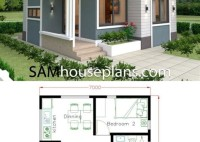 Free Small 2 Bedroom House Plans And Designs