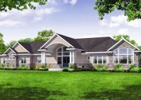 Great Room House Plans One Story