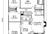 House Floor Plan With Measurements