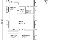 House Plans For North Facing Plot As Per Vastu