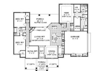 House Plans With 2 Master Bathrooms