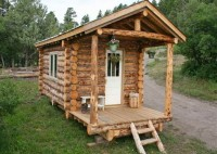 How To Build A Small Log Cabin Plans