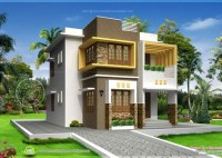Indian Home Elevation Plan