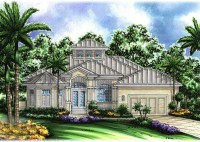 Key West Style Home Floor Plans