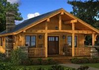 Log Cabins House Plans