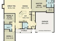 Open Floor Plans For Ranch Homes