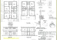 Residential Building Plan Section Elevation Pdf