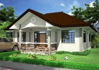 Simple Bungalow House With Floor Plans