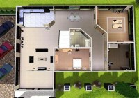 The Sims 3 House Plan