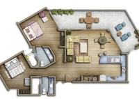 Two And A Half Men House Floor Plan