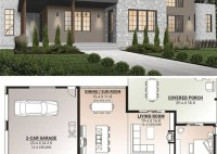 Two Story 4 Bedroom House Plans