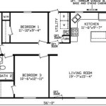 20 X 60 Mobile Home Floor Plans