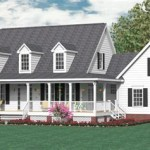 One And A Half Story Farmhouse Plans