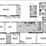 Schult Single Wide Mobile Home Floor Plans