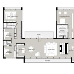 U Shaped Ranch House Plans